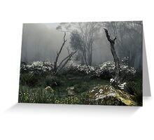 Fogscape Greeting Card
