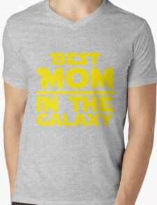Best Mom In The Galaxy Mens V-Neck T-Shirt