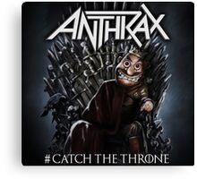 anthrax the throne 2016 Canvas Print