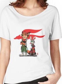 Best Pilots in Zootopia Women's Relaxed Fit T-Shirt
