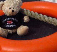 Nautical Teddy Bear Sticker