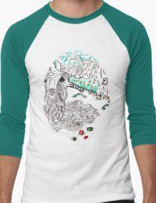 """""""Swamp Doctrine"""" Men's Baseball ¾ T-Shirt"""