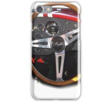 AC Cobra interior vintage rally tourauto 2016 iPhone Case/Skin