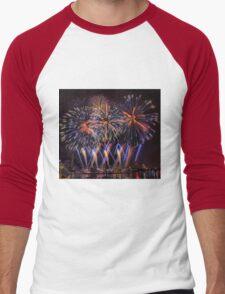 Blue Stars Men's Baseball ¾ T-Shirt