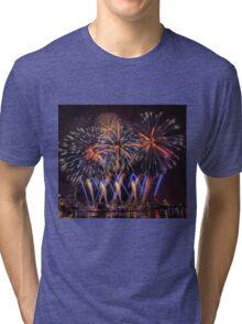 Blue Stars Tri-blend T-Shirt