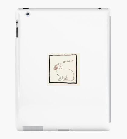 Brush Rabbit iPad Case/Skin