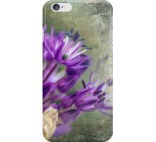 Allium Blossoms iPhone Case/Skin