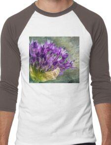 Allium Blossoms Men's Baseball ¾ T-Shirt