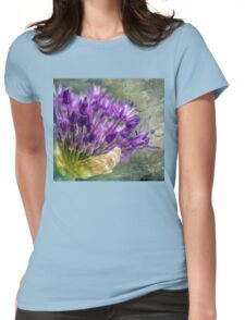 Allium Blossoms Womens Fitted T-Shirt
