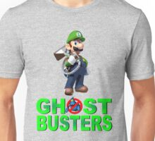 Luigi the Ghostbuster Unisex T-Shirt