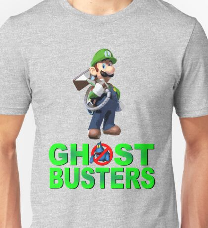 Luigi the Ghostbuster Unisex T-Shirt