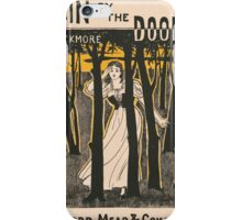 Artist Posters Slain by the doones by RD Blackmore Dodd Mead Company Hooper 0575 iPhone Case/Skin