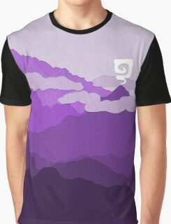 Purple World Graphic T-Shirt
