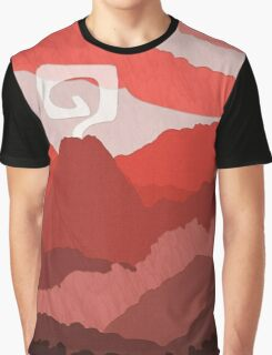Red World Graphic T-Shirt
