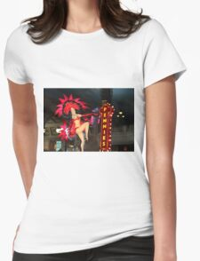 Pennies Slot Machine Womens Fitted T-Shirt