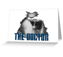 Doctor Who in the TAR-... wait, what?! Greeting Card