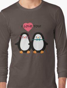 Love the penguins. Cute animals. Long Sleeve T-Shirt