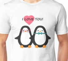 Love the penguins. Cute animals. Unisex T-Shirt