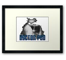 Doctor Poo Framed Print