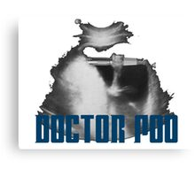 Doctor Poo Canvas Print