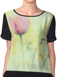 Softness Of Spring Chiffon Top