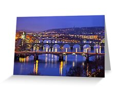 Nights in Prague Greeting Card