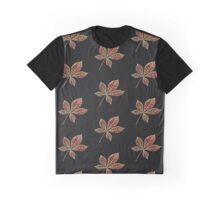 Red star leaft Graphic T-Shirt