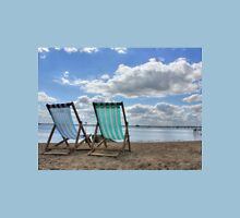 Deck Chairs HDR Unisex T-Shirt