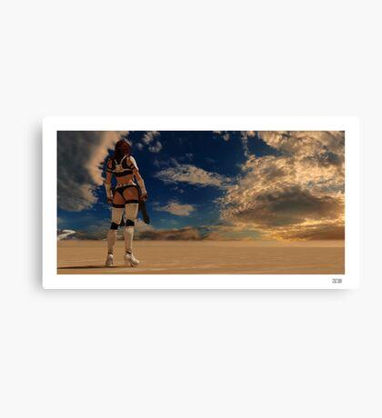 Sexy Storm Trooper Canvas Print