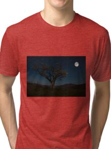 Moon Beams Tri-blend T-Shirt