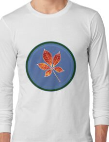 Leaft in circle 1 Long Sleeve T-Shirt