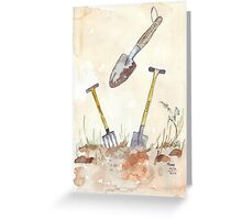 My Favourites (garden tools) Greeting Card