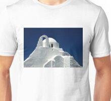 Panagia Paraportiani church - Mykonos island Unisex T-Shirt