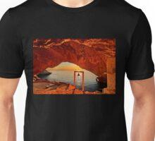 Holy sunset in Syros island Unisex T-Shirt