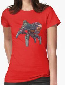 Saint Patri-Bot Womens Fitted T-Shirt