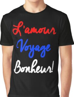 EXO - L'Amour Voyage Bonheur Graphic T-Shirt