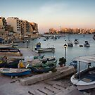 Dusk over Spinola Bay by Kasia-D