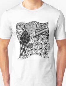 Zen-tangle #3 Unisex T-Shirt