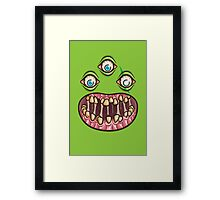 Bad Teef Framed Print