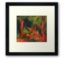 Foxlike Creature Framed Print