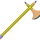 Pencil Battleaxe by SevenHundred
