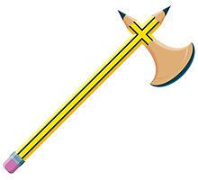 Pencil Battleaxe Photographic Print