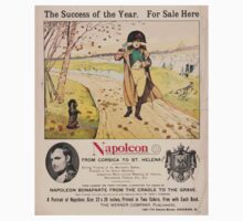 Artist Posters Napoleon from Corsica to St Helena The success of the year For sale here 1020 One Piece - Short Sleeve
