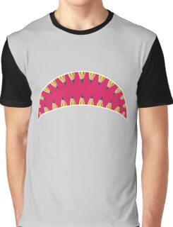 Pencil toothed shark mouth Graphic T-Shirt