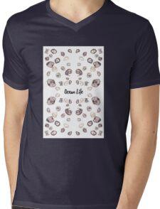 Ocean life Mens V-Neck T-Shirt