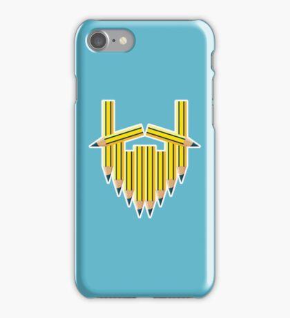 Pencil Beard iPhone Case/Skin