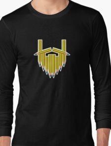 Pencil Beard Long Sleeve T-Shirt