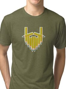 Pencil Beard Tri-blend T-Shirt