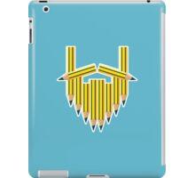 Pencil Beard iPad Case/Skin