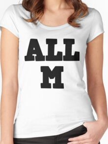 All Might - All M Women's Fitted Scoop T-Shirt